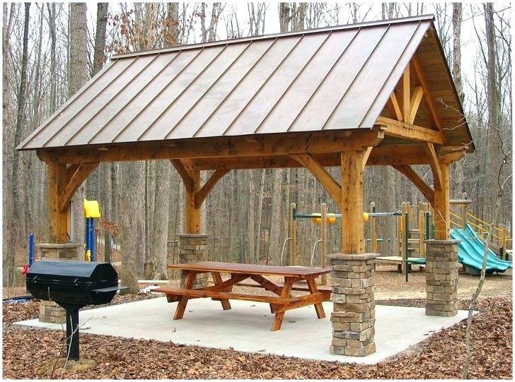 Pavilion Plans Google Search Casas Quintais Pergolado De Bambu