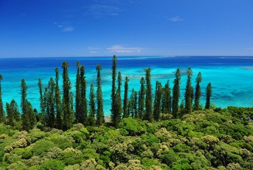 The beauty of the Isle of Pines, New Caledonia