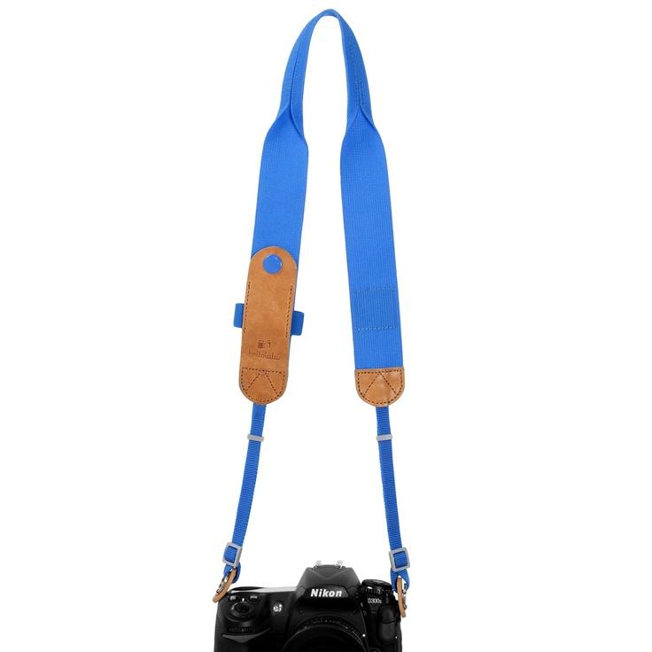 Fab.com | Tyler Camera Strap Dutch Blue