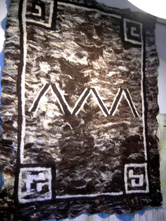 Navajo Dutch bonte schaap  Neuchi Nakama Vilt    Mirjam Peeters