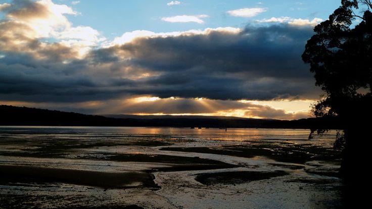 #sunset on Chiloé Island