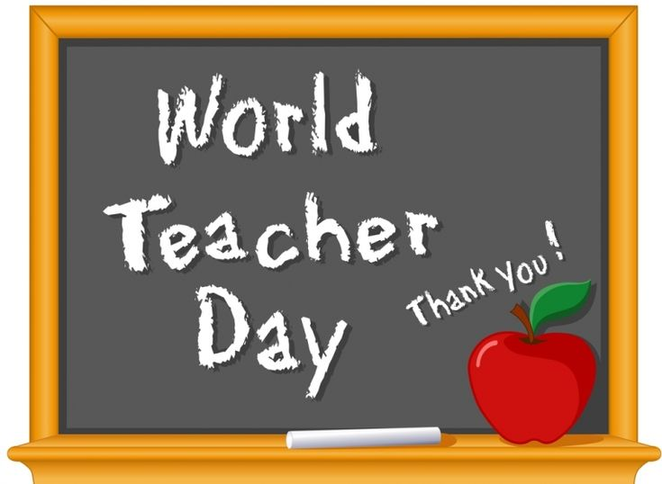 World Teachers' Day is a day to recognize the importance of teachers, who play a vital role in creating the world's citizens #GPTeachersDay