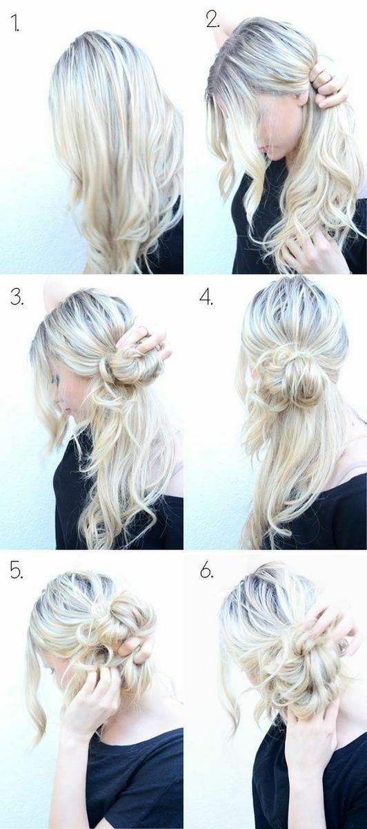 peinados faciles en seis pasos