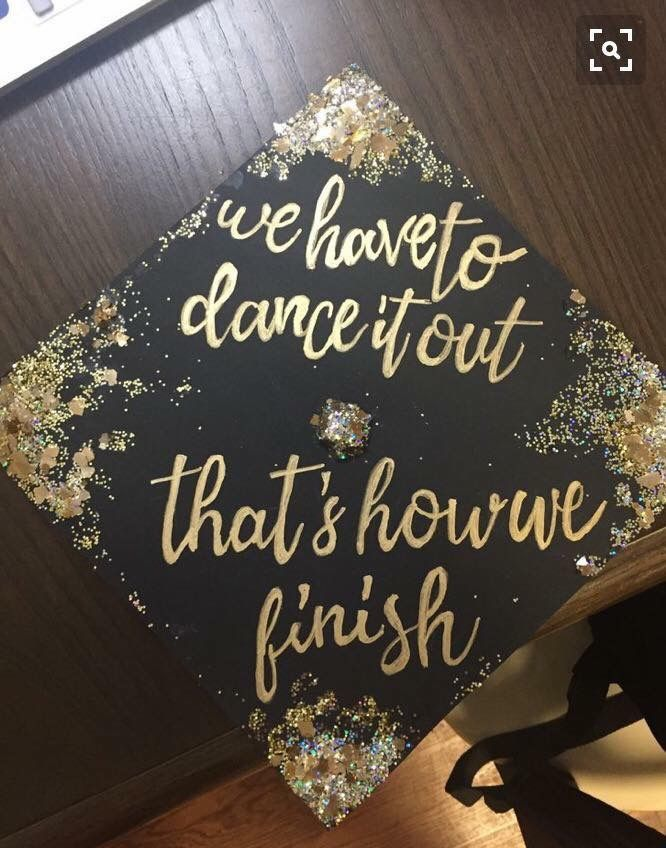 Greys Anatomy Graduation Cap