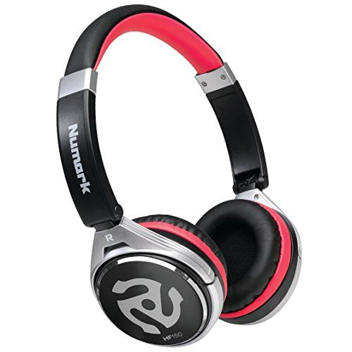 Numark Hf150   Collapsible Dj Headphones With Leatherette On-ear Cups For Comfort And Noise Isolation