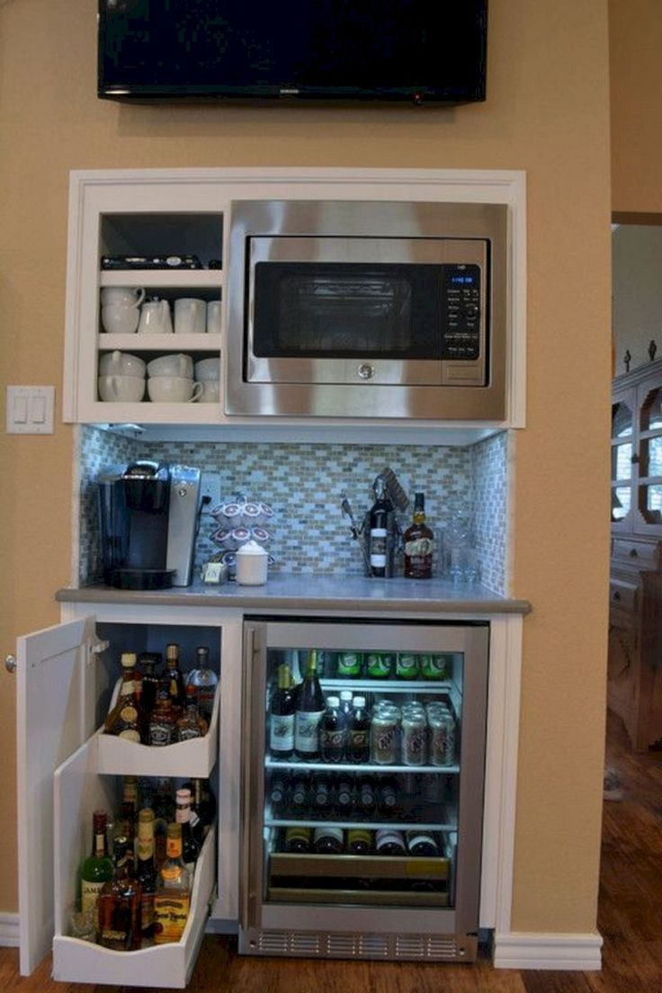 Best Way To Store Microwave In Tiny Kitchen