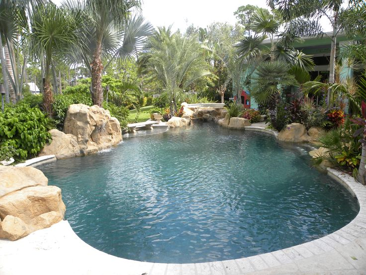 17 best images about tropical pool oasis on pinterest for Backyard pool oasis ideas