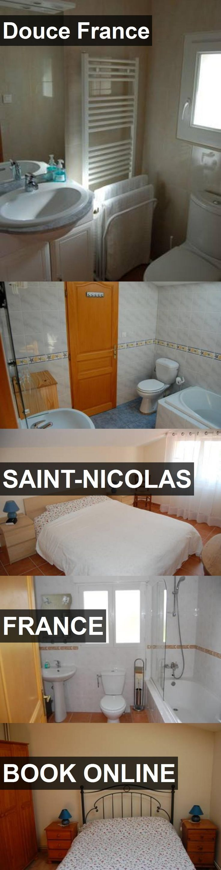 Hotel Douce France in Saint-Nicolas, France. For more information, photos, reviews and best prices please follow the link. #France #Saint-Nicolas #travel #vacation #hotel