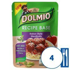 Dolmio Recipe Base Meatballs 170g