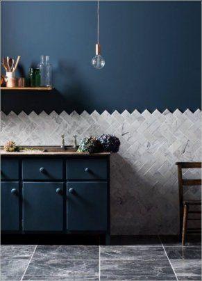 Awesome Scandinavian Kitchen Interior Idea 60