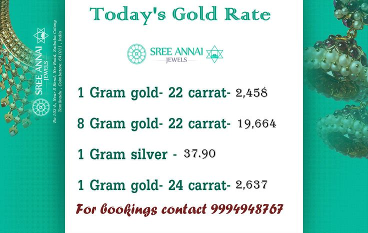Today's Gold Rate and Silver Rate - 3rd November am