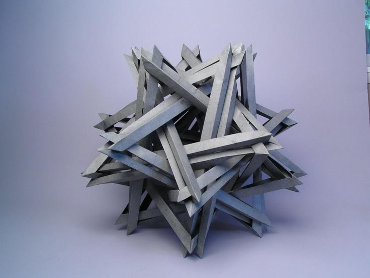 Robert Lang: Origami Modular, Modern Art, Crafts Ideas, Modern Origami, Art Style, Modular Origami, Origami Museums, Origami Art, Epic Origami