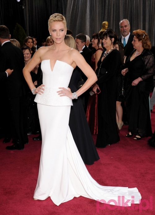 Charlize Theron w kreacji Dior Haute Couture