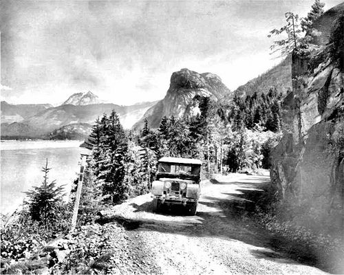 Sea to Sky Highway - connecting Vancouver, Squamish and Whistler along Howe Sound -- has come a long way since 1957.