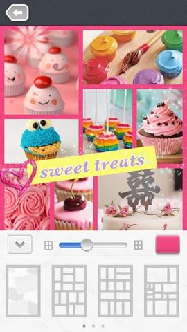 Fotocollage (gratis): https://itunes.apple.com/nl/app/pic-collage/id448639966?mt=8