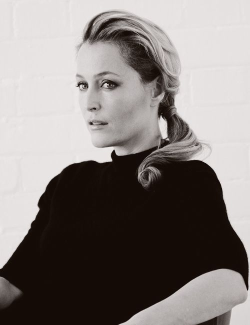 Gillian Anderson. Like a fine wine she continues to get better with age.