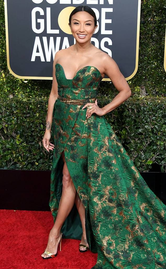 Jeannie Mai from 2019 Golden Globes Red