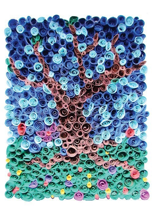 quilling abstracto