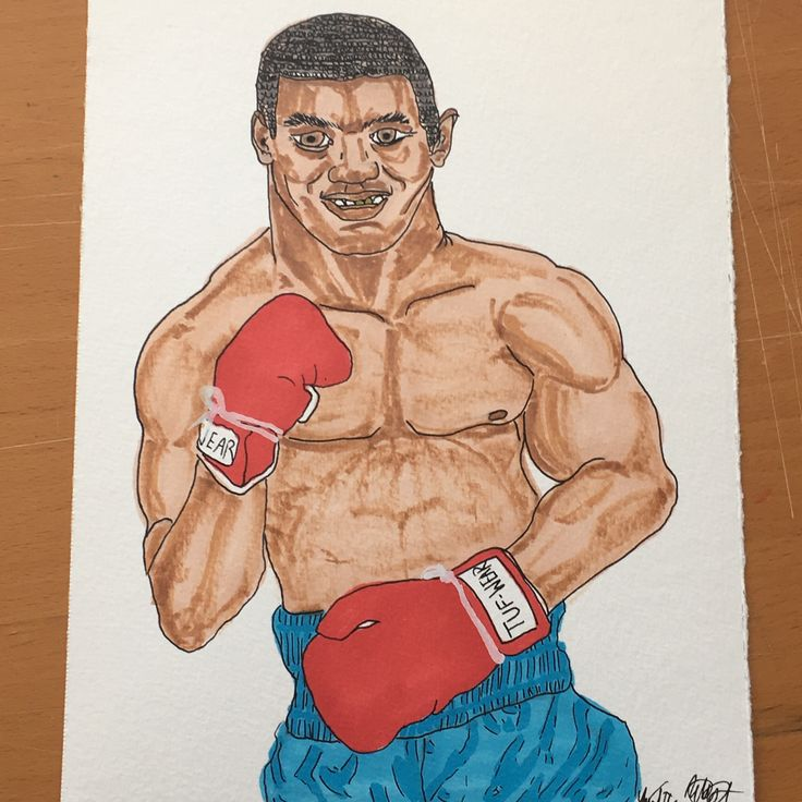 """Everyone has a plan 'till they get punched in the mouth."" Mike Tyson #miketyson #illustration #sunday #sundaynight #boxing #boxer #goldengloves #grimcartoons #fisticuffs #handdrawn #localartist #drawing #drawingoftheday #picoftheday #pictureoftheday #worldchampion #ko #knockout #miketysonspunchout #legend #ppv #love #goldteeth #heavyweight #brooklyn"