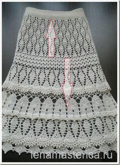 Пряжа YARN ART Begonia (100% мерсеризованный хлопок, 169 м в 50 г), цвет 6282 (слоновая кость) – 8 мотков Крючок № 2,5; Размер 34-36 (40-42)
