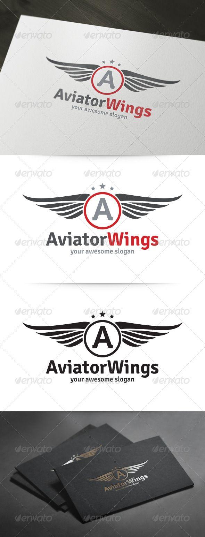 Aviator Wings Logo