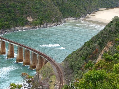http://www.gardenshuttle.net/abseiling_kloofing.html For the more adventurous or those travelers who just want to enjoy the beauty of nature, Kaaimans River Mouth, Wilderness, Garden Route, South Africa. Now is the perfect time to book your experience of a lifetime! Contact Us.