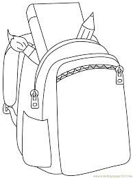 backpack coloring book - Google Search