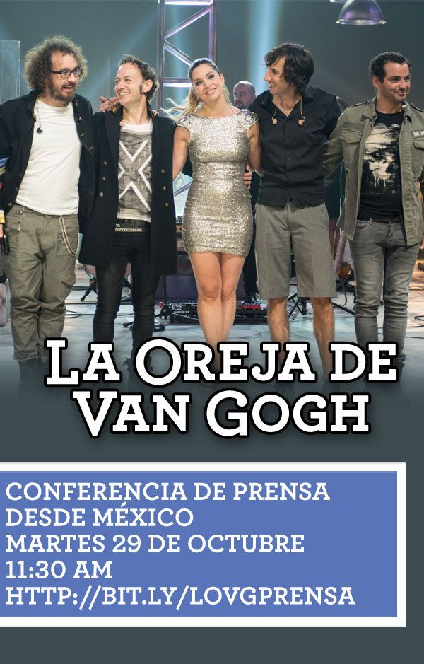 ¡No te pierdas la transmisión de la conferencia de prensa mañana 29 de Octubre a las 11:30am (México)!