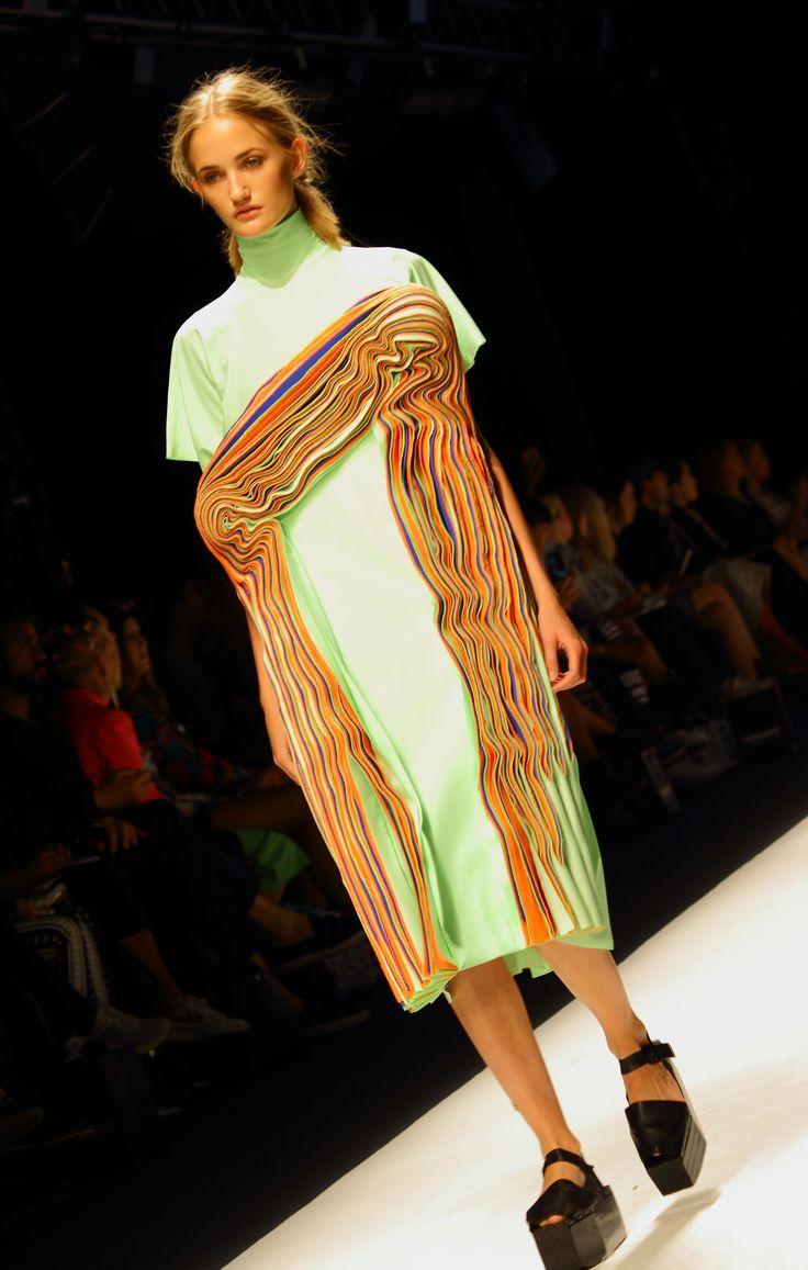 Stockholm Fashion Week Spring/Summer 2015. Designer: Hanna Freese. Photo: Sampo Axelsson