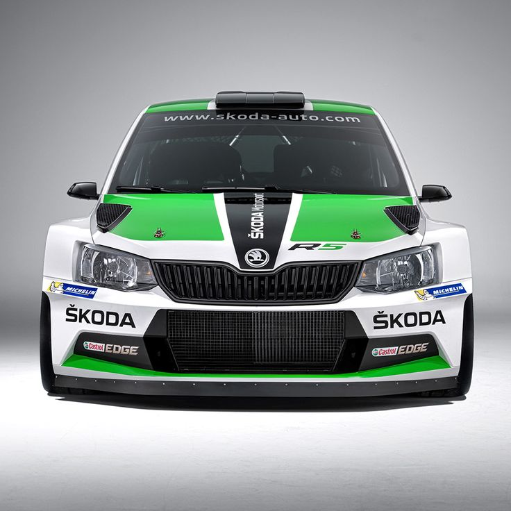 The Fabia R5 is based on ŠKODA's spectacular new production Fabia and is the successor of the Fabia Super 2000, which went down as the most successful rally car in the 114 years of ŠKODA Motorsport's history #R5