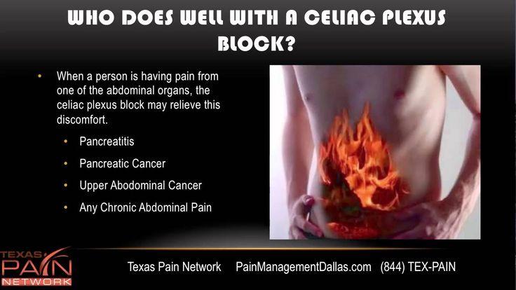 Celiac Plexus Block for Abdominal Pain at a Dallas Pain Management Center