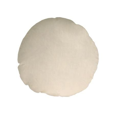 Round feather cushion pad from Dunelm Mill - to make round button cushion with piping