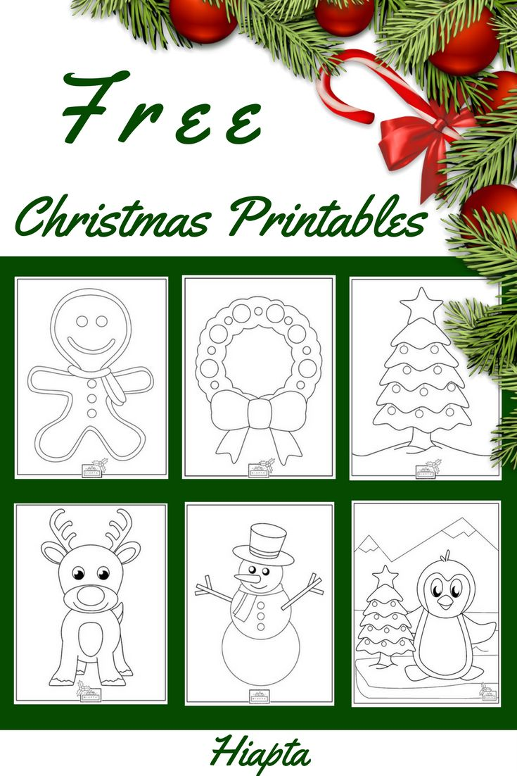 20 best Christmas Printables images on Pinterest | Free printable ...