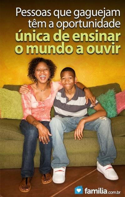 Familia.com.br   Como #lidar com #adolescentes que #sofrem de #gagueira. #superandodificuldades #adolescencia