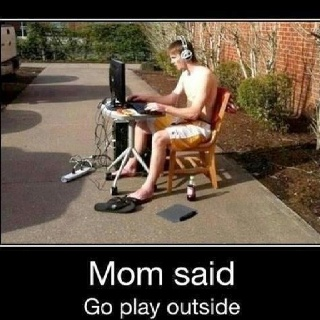 Mom Said So! This is something I would do to my mom just to get a rise out of her.Funny Pics, My Sons, Videos Games, Funny Pictures, Funny Stuff, Humor, Kids, Mom, Plays Outside