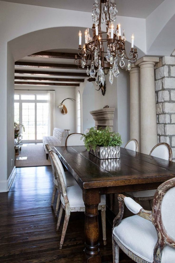 Dining Room Dark Romantic: 71 Best Columns, Interior Decorating, Half Wall, Bookshelf