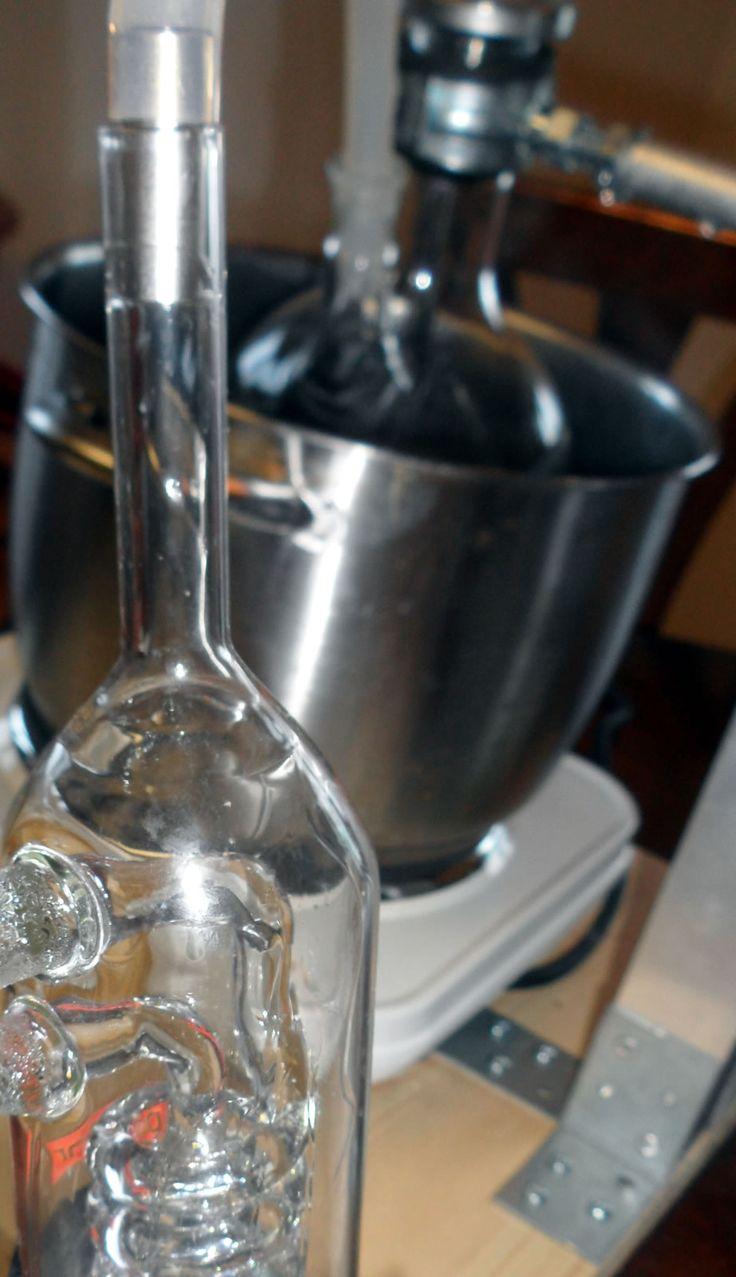 Pure Chili Exkrakt (Capsaicin) EXTREM Scharf   C-Food Soxhlet Apparatur