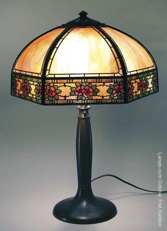 66 best Handel Lamp co. images on Pinterest | Buffet lamps ...