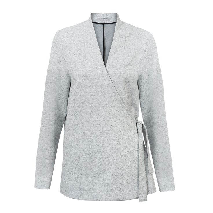 Buy the Mura Tie Side Jacket at Oliver Bonas. Enjoy free worldwide standard delivery for orders over £50.