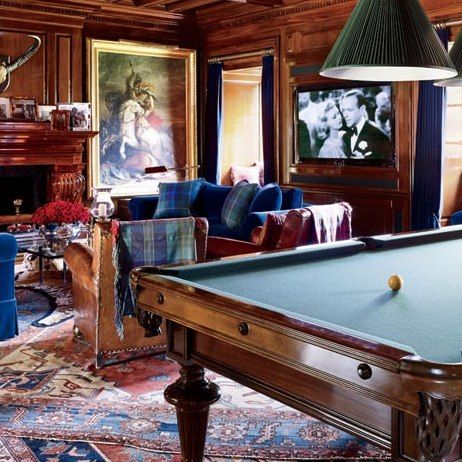 Bedford Poolhouse Bath : Ralph Lauren's Chic Homes and Office : Architectural Digest