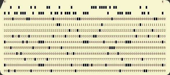 scheda perforata informatica