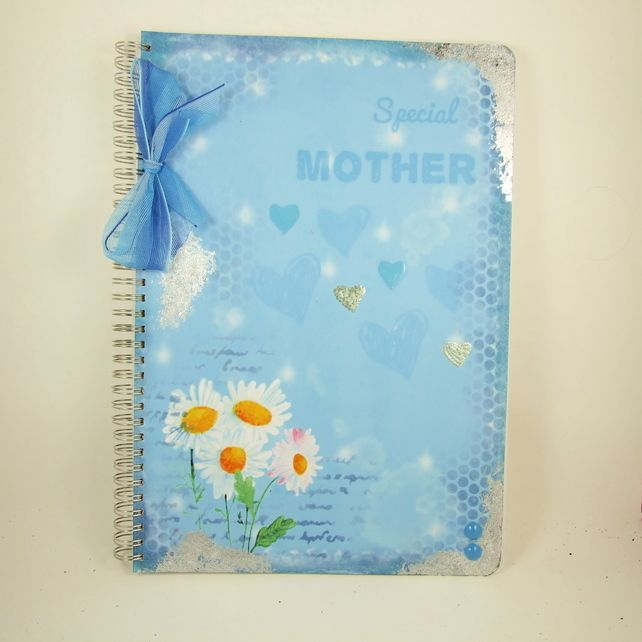 Large A4 Handmade Photograph Album, Memory Book, Special Mother £12.75