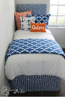 University of Florida Gators Custom Designer Bedding Set