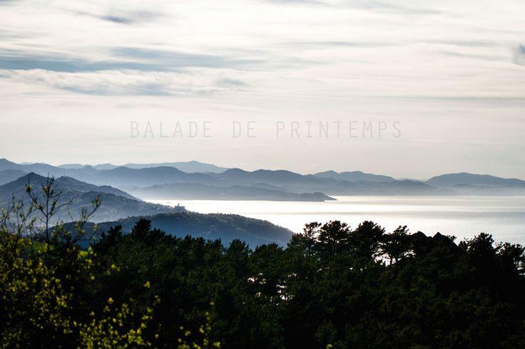 Un beau paysage lors d'une balade de printemps au Pays Basque. #paysbasque