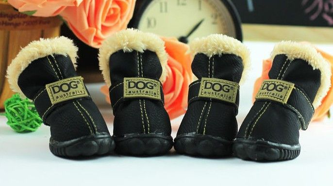 Dog Boots | Puppy Booties | Waterproof | Winter Snow Boots| Rain boot