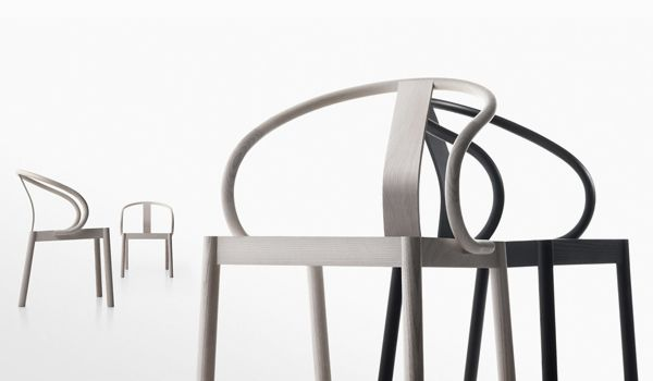ENZO BERTI'S FURNITURE DESIGN: this Nordic style chair was born of a collaboration between Berti and Flai for Hiko