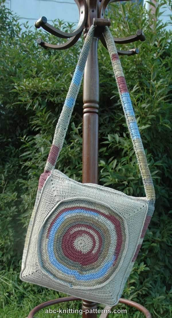 ABC Knitting Patterns - Fairy Circle Handbag