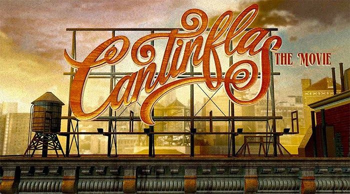 Lettering de la película Cantinflas 2014