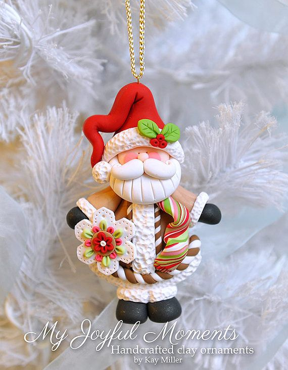 Père Noël (Fimo)
