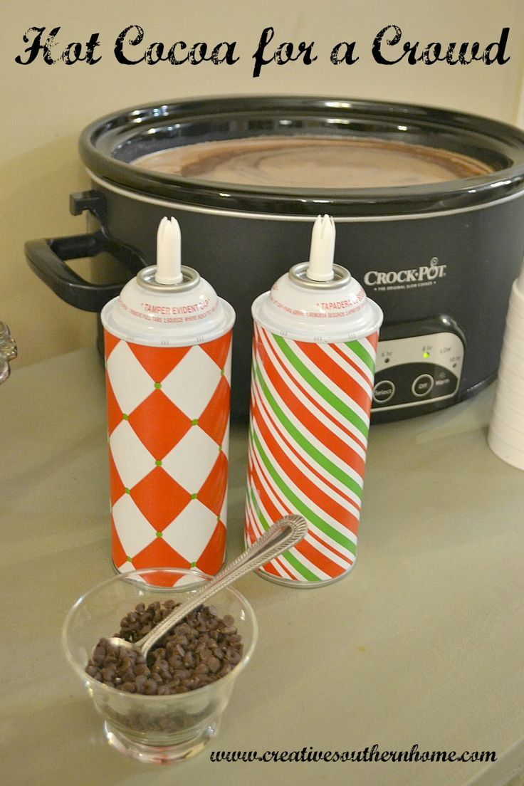 Making hot chocolate for a crowd - Hot Cocoa For A Crowd